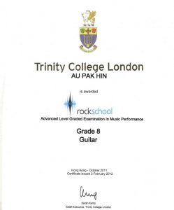 Rockschool Grade 8 -Lunar 1