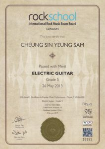 Rockschool grade 5 - Sam (2)