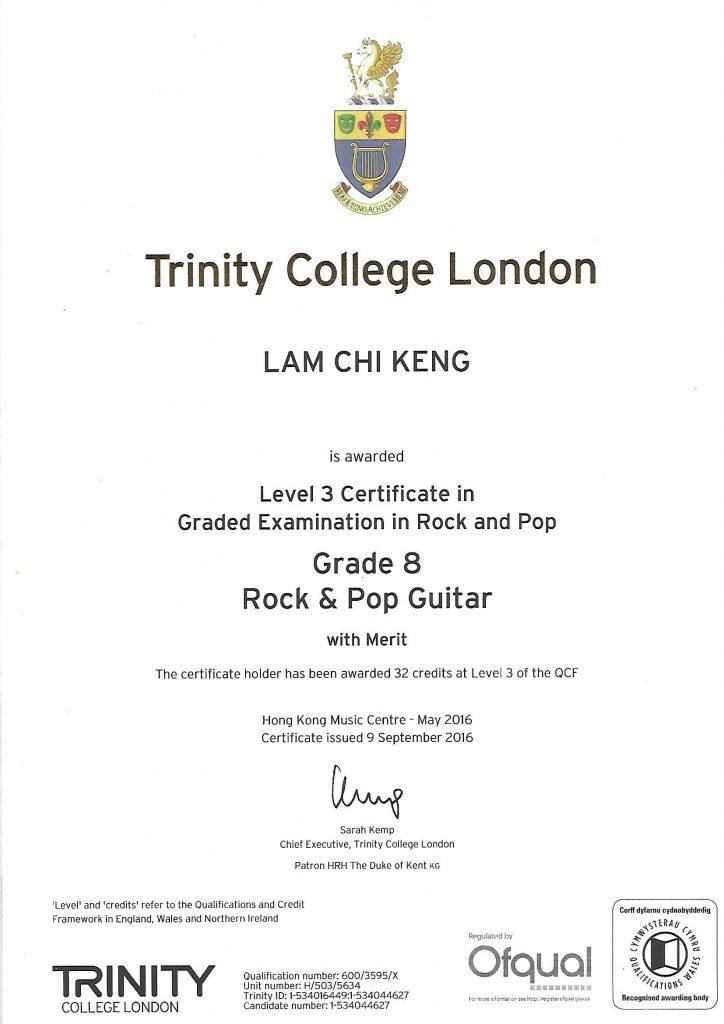 Rock and Pop G8 -Keng